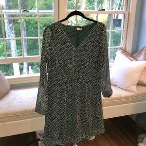Dresses & Skirts - Green sheer dress